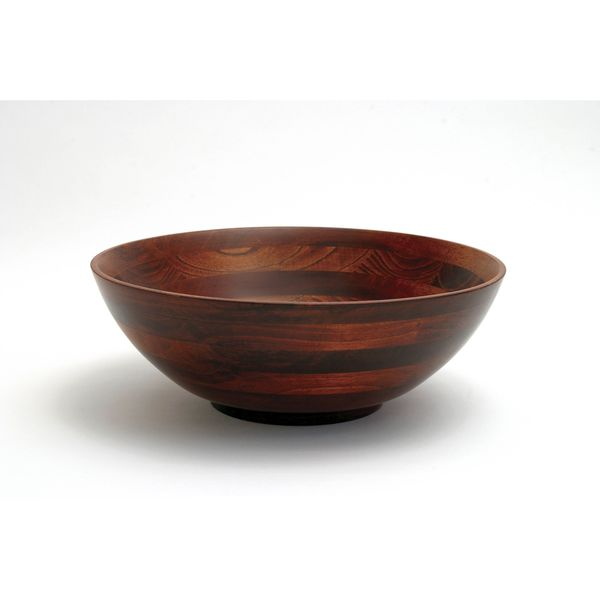 Cherry Finish Large Bowl 13-inch