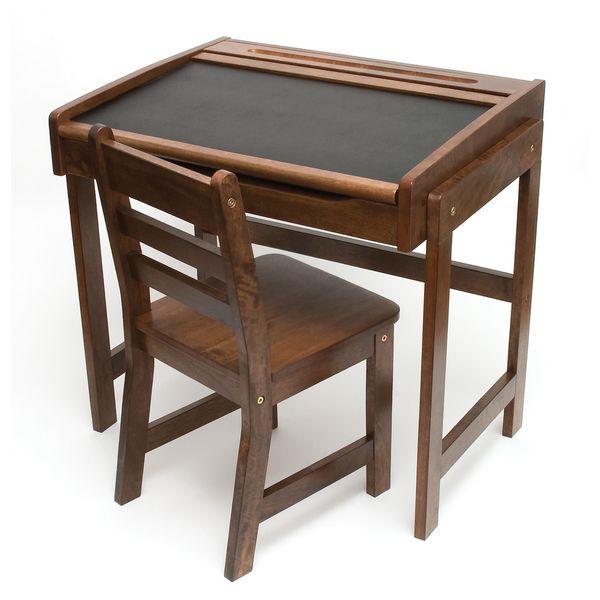 Child Chalkbd Dsk Chair Walnut 15677174