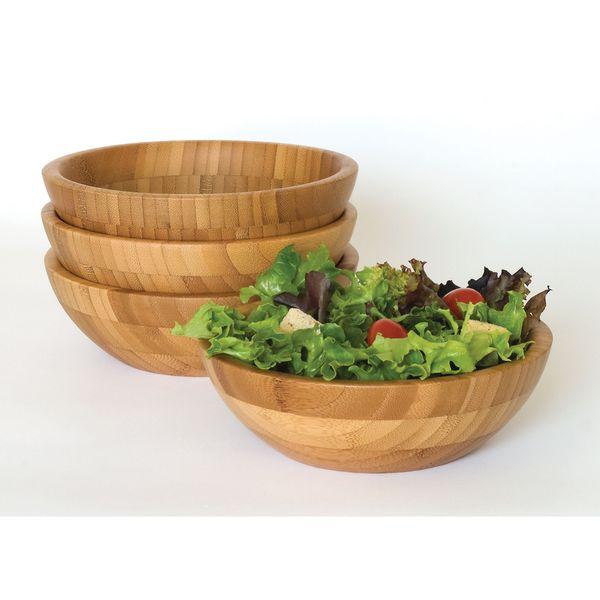 Bamboo Set 4 7-inch Bowls