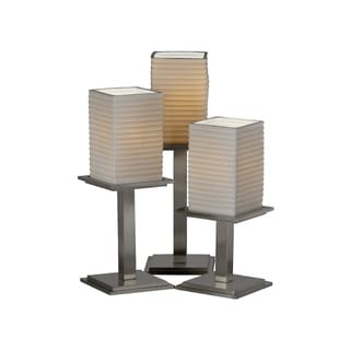 Justice Design Group Limoges-Montana 3-light Portable, Sawtooth