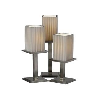 Justice Design Group Limoges-Montana 3-light Portable, Pleats