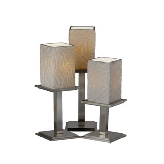 Justice Design Group Limoges-Montana 3-light Portable, Bamboo