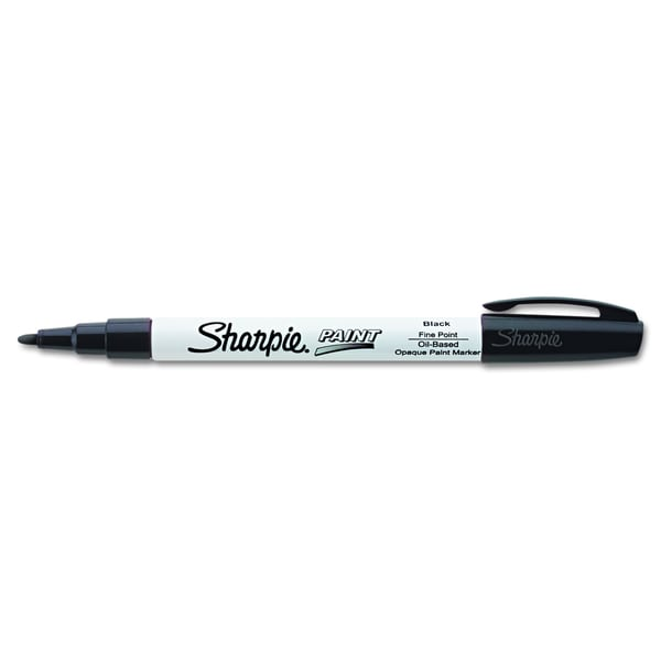Sharpie Black Permanent Paint Marker (Pack of 10)