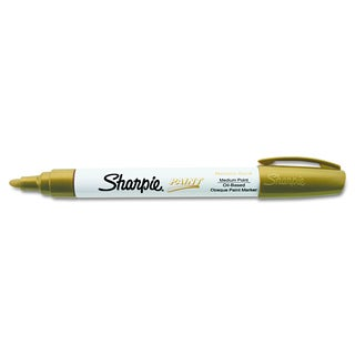 Sharpie Gold Permanent Paint Marker (Pack of 10)