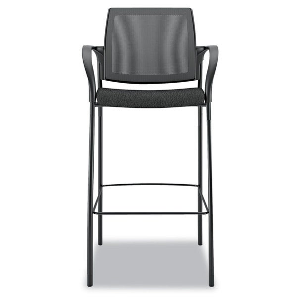 HON Ignition Series Black Mesh Back Caf Height Stool