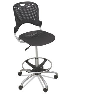 Office Star Products Work Smart Backless Drafting Saddle