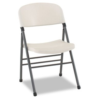 Cosco Endura Series Resin Molded Folding Chair (Set of 4)