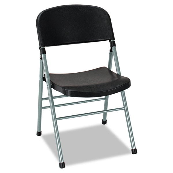 Cosco Endura Series Molded Folding Chair (Set of 4)