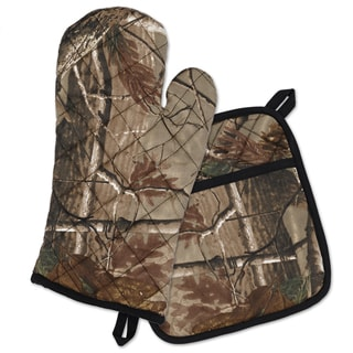 Realtree Potholder abd Oven Mitt Set