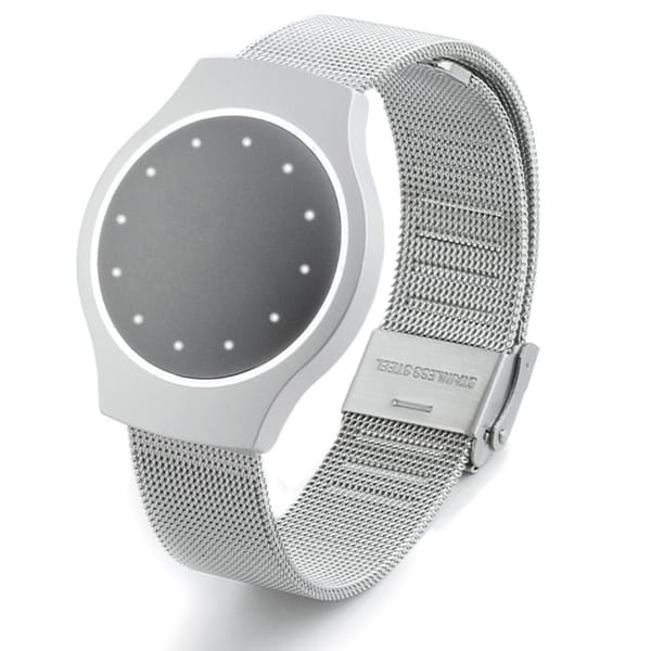 Silver Metal Mesh Band for Misfit Shine