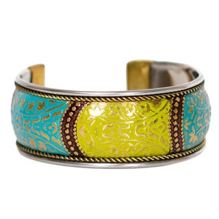 Medium Bollywood Cuff - Citrus