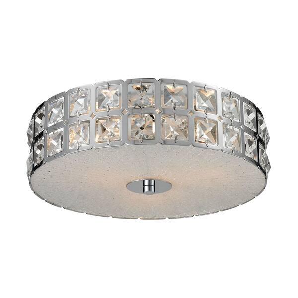 Cornerstone Wickham 3 Light Flush Mount Wickham 3-light Flush Mount