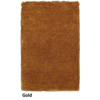 Rizzy Home Commons Hand-Tufted Gold Solid Area Rug (8' x 10')