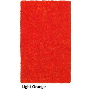 Rizzy Home Commons Hand-Tufted Orange Solid Area Rug (8' x 10')