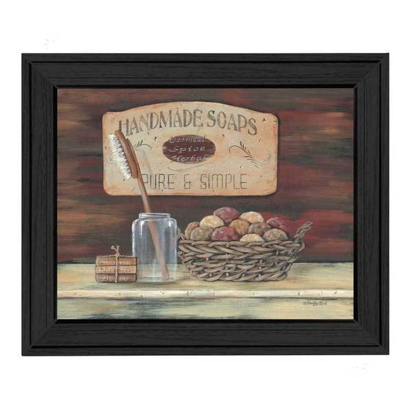 Handmade Soaps' Framed Art