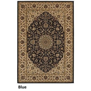 Rizzy Home Chateau Blue Abstract Rug (3'3 x 5'3)