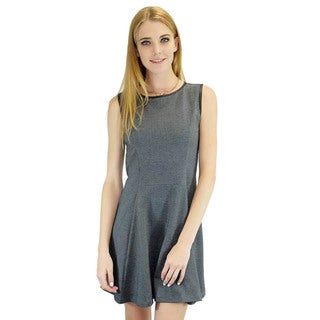 Relished Women's Heather and Leather Dress
