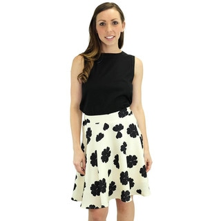 Relished Women's Lucy Cream Swing Skirt