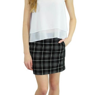 Relished Women's All That Plaid Skirt