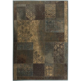 Rizzy Home Bellevue Abstract Area Rug (6'7 x 9'6)