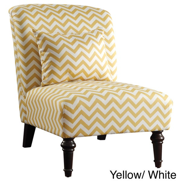 Geiger Style Living Room Armless Accent Chair
