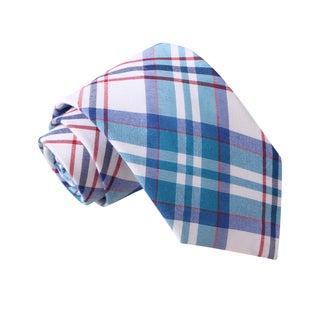 Knot Society Men's Multi Color Plaid Tie