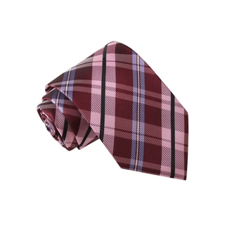 Knot Society Men's Multi Color Plaid Tie