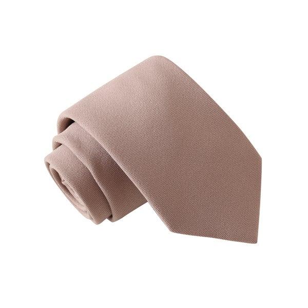 Knot Society Men's Solid Tan Tie