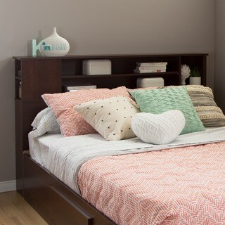 South Shore Vito Full/ Queen Bookcase Headboard