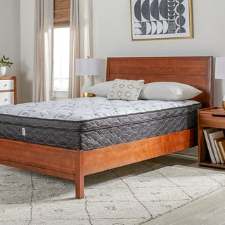 OSleep 12-inch Wrapped Coil Euro Top Mattress