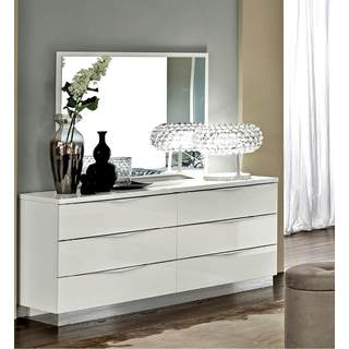 Luca Home Double Dresser and Mirror