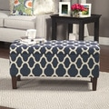 HomePop Large Decorative Storage Ottoman