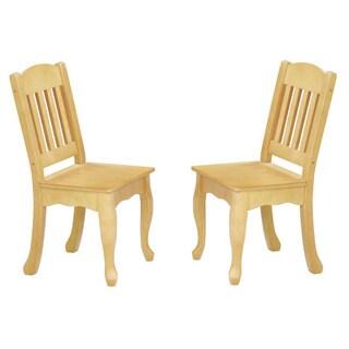 Teamson Kids - Windsor Set of 2 Chairs - Natural
