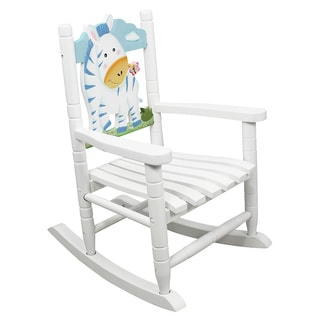 Teamson Kids- Safari Rocking Chair-Zebra