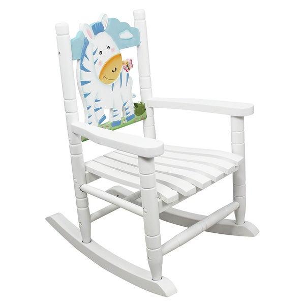 Kids- Safari Rocking Chair-Zebra (15679635 W-8340A Teamson Design ...
