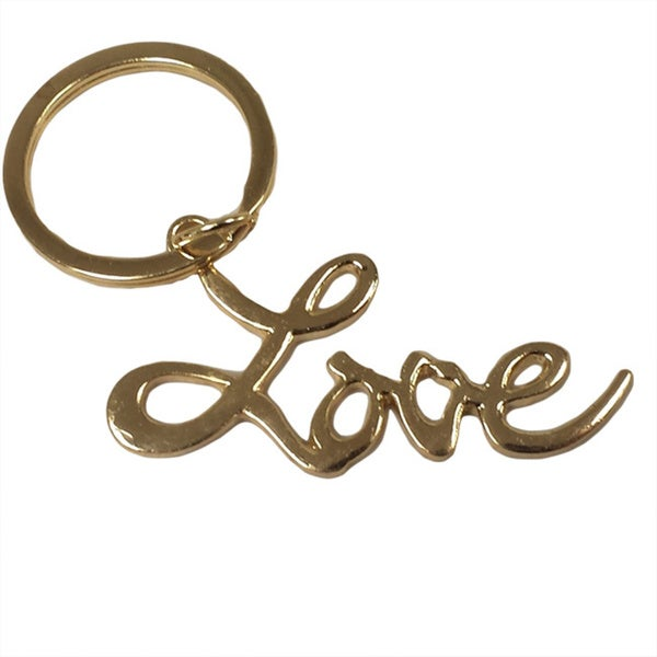 Sex and The City Movie 16k Gold Love Keychain