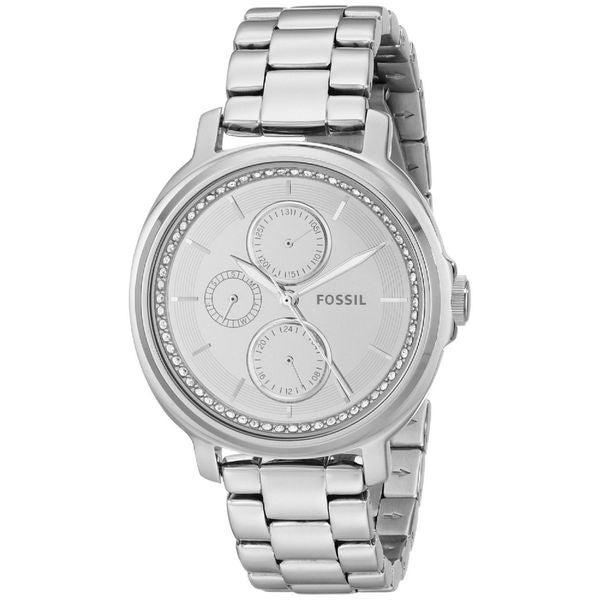 Fossil Women's ES3718 'Chelsey' Chronograph Crystal Stainless Steel Watch