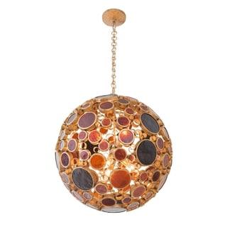 Varaluz Fascination 6-light Orb Pendant, Kolorado