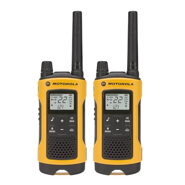 2-Pack T400 Rechargeable 2-way Radio Yellow