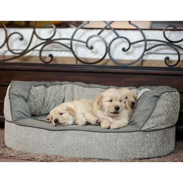 Integrity Bedding Luxury Orthopedic Memory Foam Designer Pet Bed by K. Guccione (MED XL)