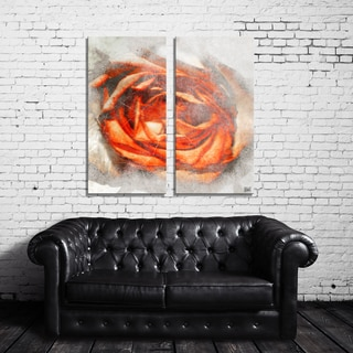 Ready2HangArt 'Born2BWild III' Floral Canvas Wall Art