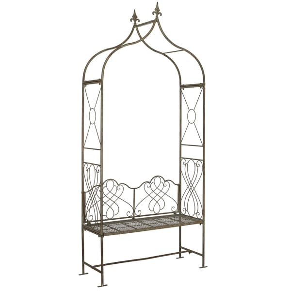 Safavieh Outdoor Living Eloise Rustic Blue Arbor