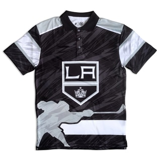 Los Angeles Kings NHL Polyester Thematic Polo Shirt