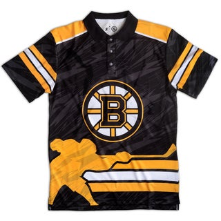 Boston Bruins NHL Polyester Thematic Polo Shirt