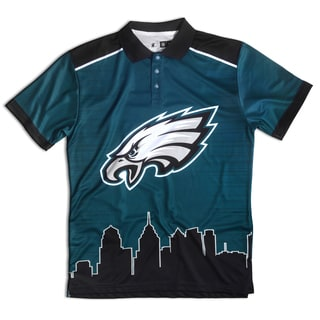 Philadelphia Eagles NFL Polyester Thematic Polo Shirt