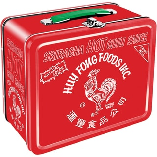 Sriracha Rooster Tin Lunch Box
