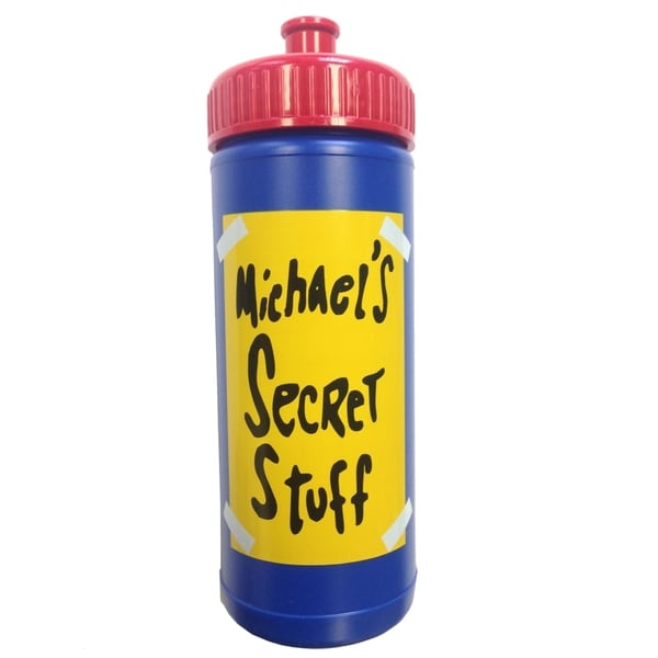 Space Jam Michel's Secret Stuff Water Bottle