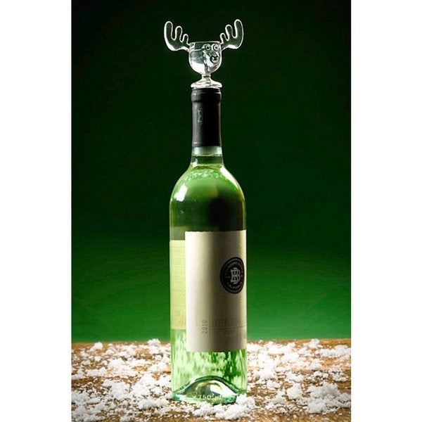 Christmas Vacation Griswold Moose Mug Wine Bottle Stopper