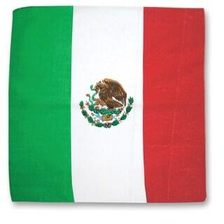 Mexican Flag Cotton Bandana