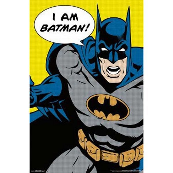 DC Comic I Am Batman Poster